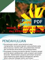 3. Dasar Genetik Dan Keragaman Genetik Pt 2012