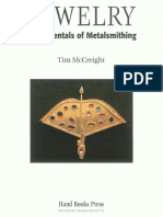 Jewelry Fundamentals of Metalsmithing by Tim McCreight