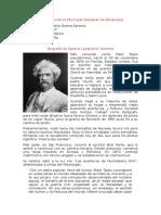 Biografía Mark Twain