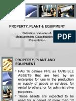 Property, Plant & Equipment