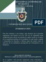 Presentación Reglamento de Seguridad Social