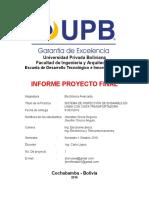Informe Proyecto Final Electronica Avanzada