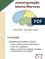 Neurocomputação O Sistema Nervoso