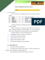 Manual de Las 5 s Proyecto