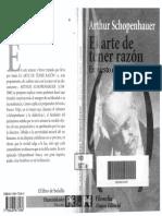 Schopenhauer Arthur El Arte de Tener Razon