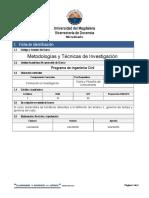 Metodologias y Técnicas de La Investigación (5 Pag)