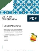 Dieta en Periodoncia
