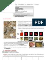 Diferentes tipos de Minerales y Rocas