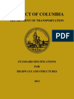 DDOT Standard Specifications Highways Structures 2013