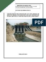 Estudio Hidrologico e Hidraulico