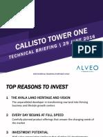 2016-0629 Callisto Tower 1 - Project Presentation