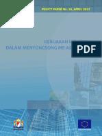 Kebijakan Industri Dalam Menyongsong ME ASEAN 2015
