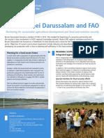 Brunei and FAO Partnership