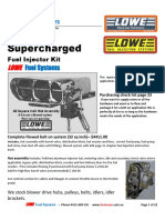 Fuel System - Bug Hat - Supercharged 110801