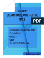 Effective Mass From Bandstructure
