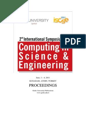 Iscse 2011 Proceedings Final-kusadası | Image Segmentation