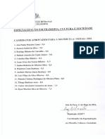 Enc. Documentação de Matrícula Classificação e Notas