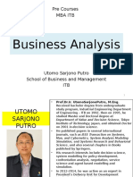 Business Analysis_Pre Courses MBA ITB