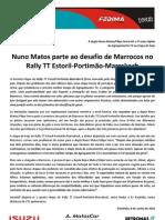 Press Nuno Matos 10.06.08 Etapa 3 Estoril-Marrakeche