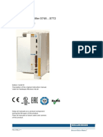 Kollmorgen S700 Servo Drive S748...S772 Instruction Manual