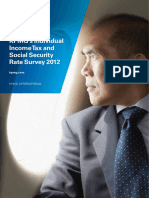 KPMG Individual Income Tax and Social Security Rate Survey 2012