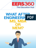 What After Engineering - MS, MBA or MEM