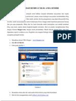 Cara Mudah Membuat Blog Anda Sendiri
