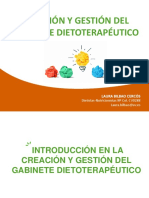 Creacion y Gestion de Gabinete Dietoterapéutico