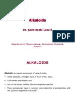 Alkaloids Gener Tropanes
