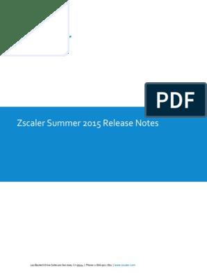Zscaler Cloud Update Summer2015 2   Cloud Computing