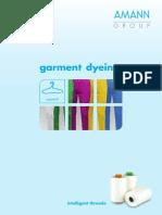 AMANN Garment Dyeing En