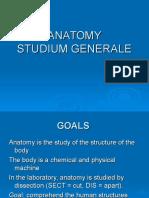 Anatomy Studium Generale
