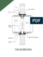 Fire Damper Installation Details