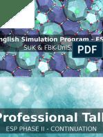 English Simulation Program - ESP (1)