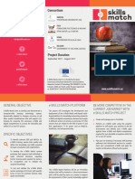 e-Skills Match Project Brochure