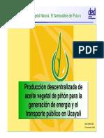 Aceite Vegetal Natural Cfc - Ded