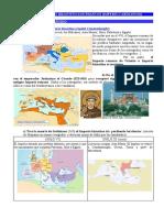3. Imperio Bizantino y Carolingio