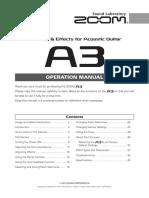 A3 OperationManual English (1)