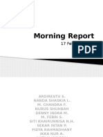 Morning Report 18 Febr 2015