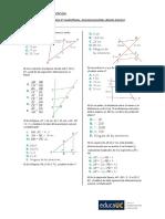 Guia de Ejercicios 2o Medio Geometria Proporcional