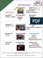 DM2 October Events Flyer