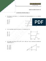 623-MAT 28-E  Guía Ejercicios, Geometría Proporcional II - WEB (1).pdf