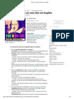 Cómo y cuándo usar the en inglés.pdf