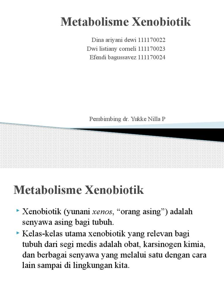 Metabolisme Xenobiotik Revisi Ke 5