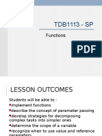 TDB1113 Functions