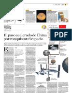 El Paso Acelerado de China Por Conquistar El Espacio