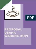 Contoh Proposal Bisnis Kedai Kopi