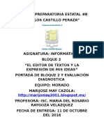 Portada y Evalcuacion Diagnostica