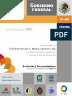 Tratamiento de Astrocitoma y Meduloblastoma