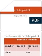 article partitif.pptx